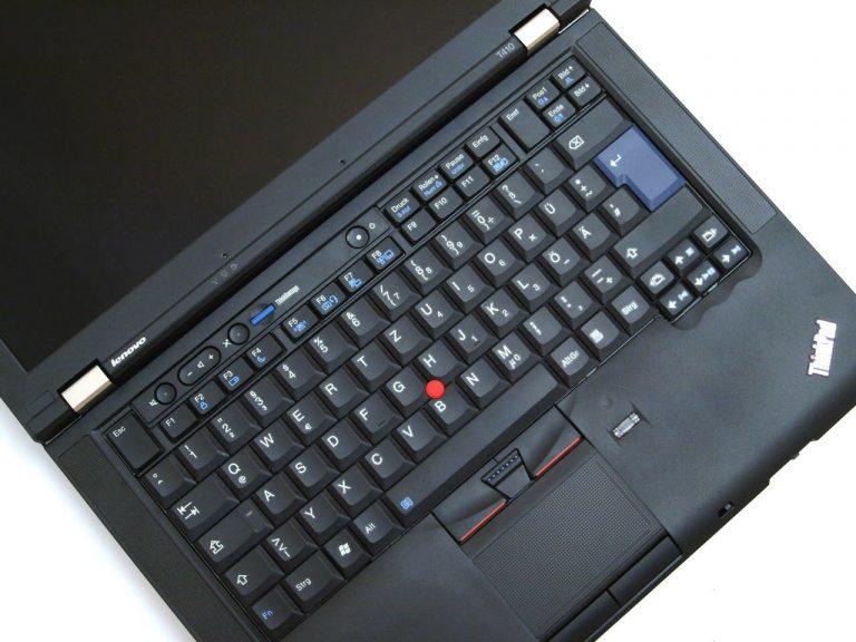 لپ تاپ lenovo t410